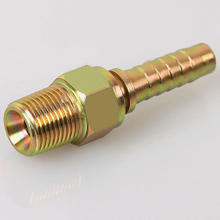 10611 METRIC MALE DOUBLE USE FOR 60° CONE SEAT OR BONDED SEAL instrumentation tube fitting